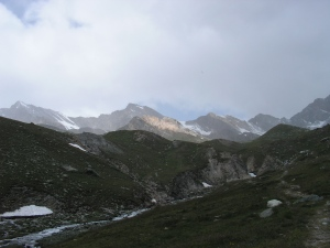 From Refugio Vittorio Sella