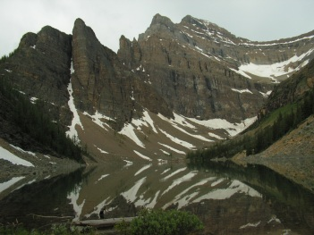 Lake Agnes, Canadian Rockies, July 2007