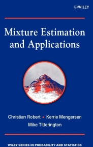 cover of Mixture Estimation and Applications