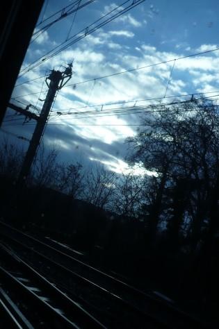 From the (TGV) train, Jan. 21, 2011