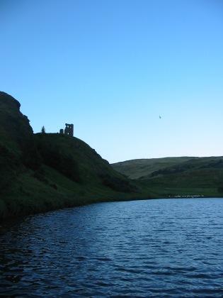 St Margaret's Loch, Arthur's Seat, Holyrood Park, Edinburgh, Sept. 6, 2011