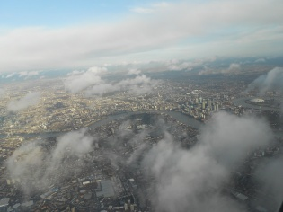London by Delta, Dec. 14, 2011