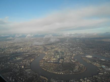 London by Delta, Dec. 14, 2011