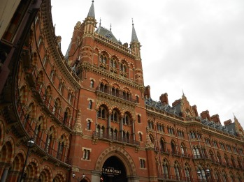 St Pancras. London, Jan. 26, 2012