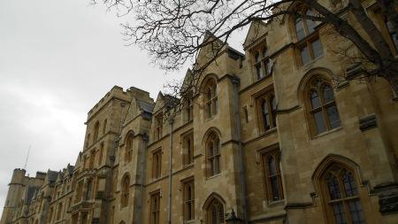 Holywell St., Oxford, Feb. 22, 2012