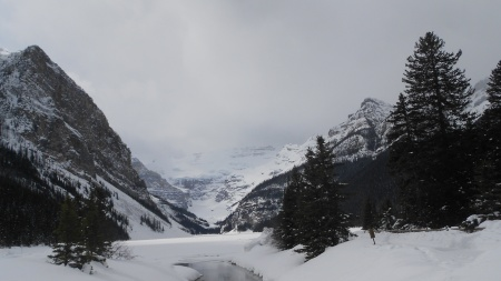 Lake Louise, Banff National Park, March 21, 2012