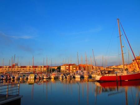 harbour in the morning, Carnon, June 15, 2012