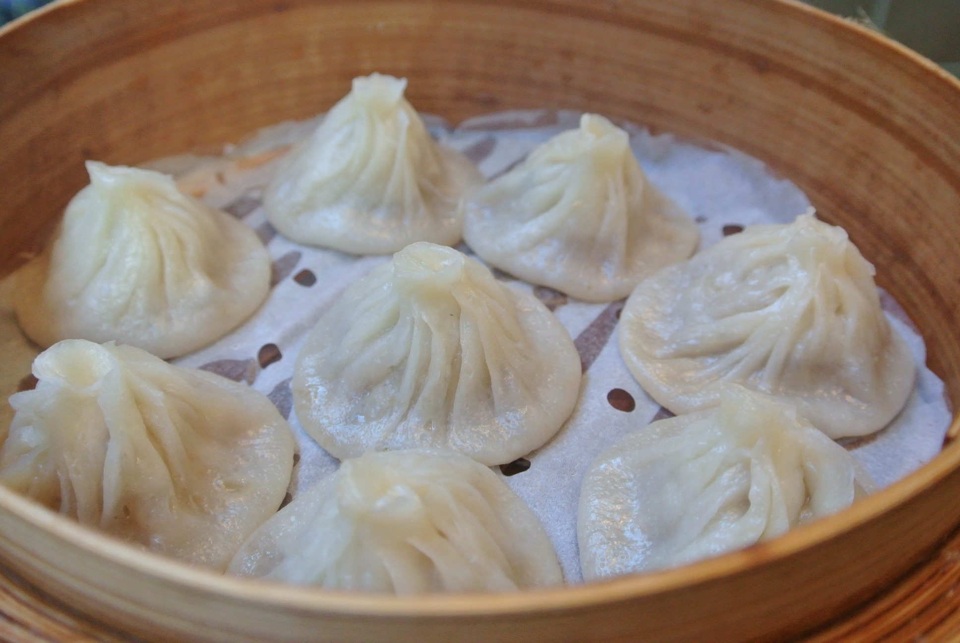 Xiao Long Bao dumplings, Hu Tong Dumpling Bar, Market Lane, Melbourne ...