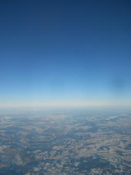 AF flight to Montpellier, Feb. 07, 2012