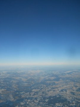 AF flight to Montpellier, Feb. 07, 2012