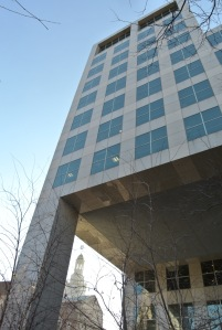 ICERM building, Providence, RI, Nov. 29, 2012