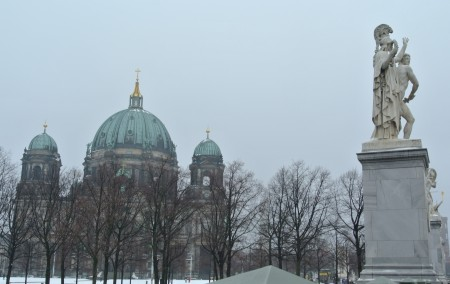 Berliner Dom, from Schoßplatz, Berlin, Dec. 10, 2012