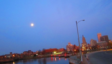 Dawn in Providence, Nov. 30, 2012