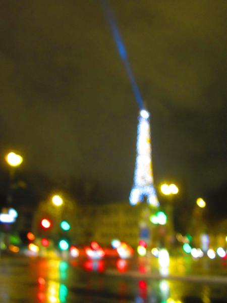 Tour Eiffel from Pont de l'Alma, Paris, Dec. 16, 2012