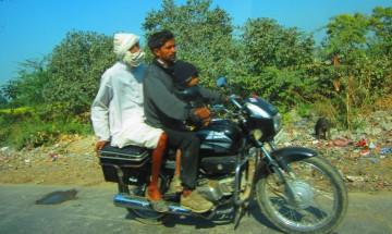 on Tonk Road, Rajasthan, Dec. 30, 2012