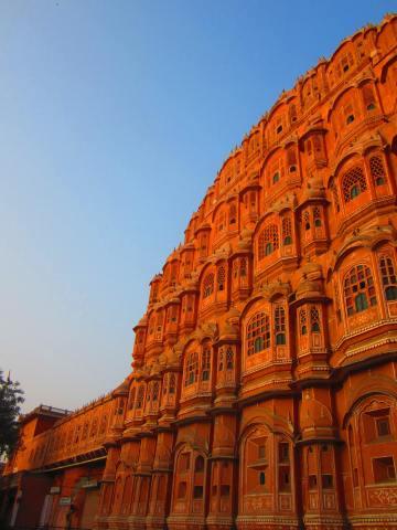Hawa Mahal, Jaipur, Rajasthan, Dec. 30, 2012