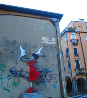 piazza del castello, Padova, March 21, 2013