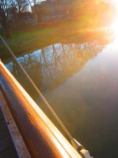 fiume Bacchiglione, Padova, March 22, 2013