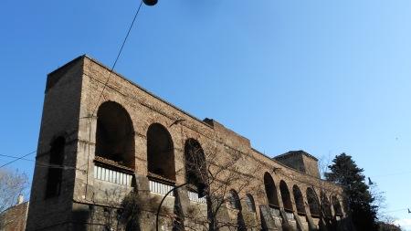 viale del Muro Torto, Roma, Feb. 28, 2012