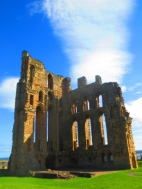 ruins of the abbey at Tynemouth, Sept. 03, 2013