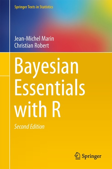 Bayesian essentials with R available on amazon