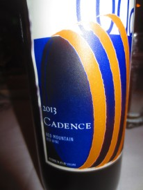 """""""another local red wine with a strong personality, Seattle, Aug. 10, 2015"""""""