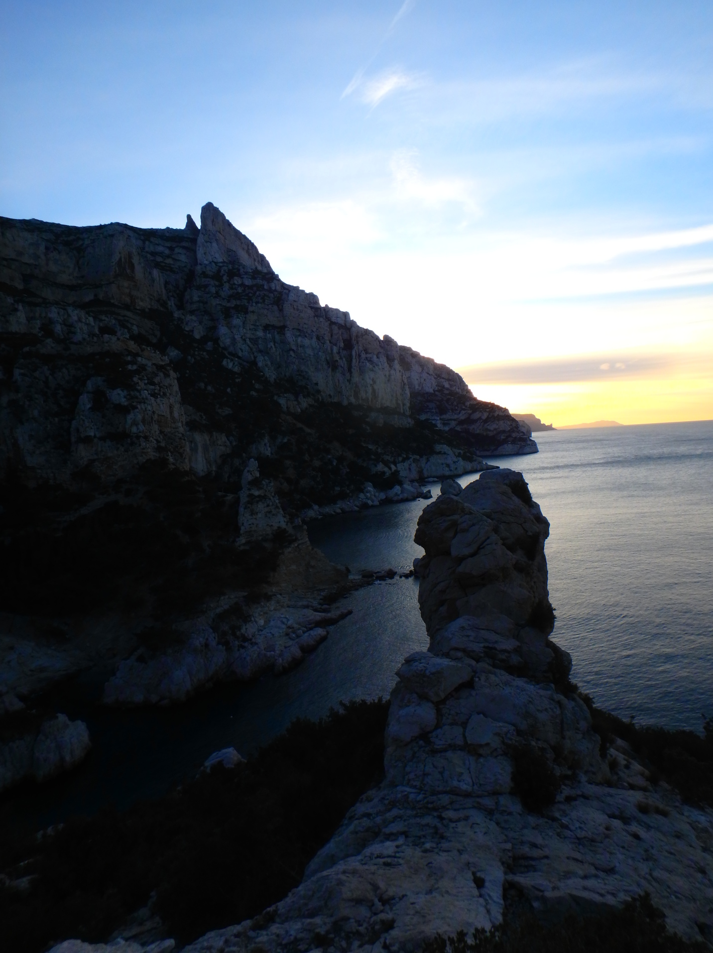 Calanque de Sugiton, near CIRM, Marseilles, March 2016