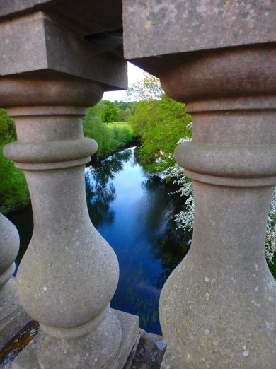 bridge upon the Avon river, Stoneleigh, Warwickshire, May 31, 2016