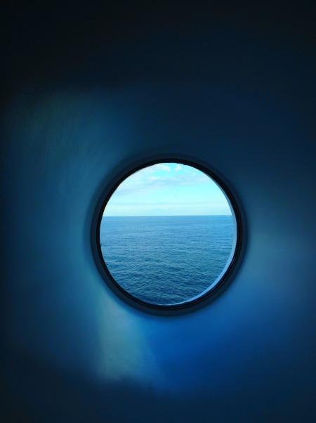 window on the Silja Symphony