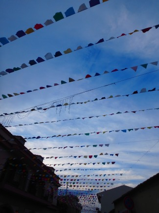 non-tibetan flags in Pula, Sardinia, June 12, 2016