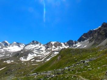 end of the plateau, Rifugio Vittorio Stella, Aosta, July 16, 2016